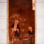 絹本著色 十六羅漢像 迦諾迦伐蹉