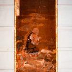 絹本著色 十六羅漢像 蘇頻陀