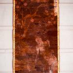 絹本著色 十六羅漢像 諾矩羅