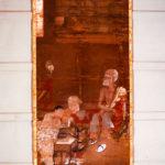 絹本著色 十六羅漢像 跋陀羅