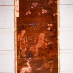絹本著色 十六羅漢像 迦哩迦