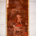 絹本著色 十六羅漢像 因掲陀