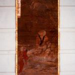 絹本著色 十六羅漢像 伐那婆斯