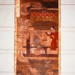 絹本著色 十六羅漢像 阿氏多