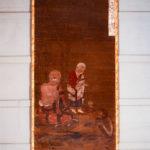 絹本著色 十六羅漢像 注荼半托迦